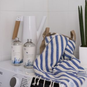 Hamam pyyhe! Bambu Sininen! – Koko 100x175cm, 70% bambua 30% puuvillaa