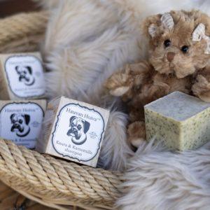Hauvan Hoiva Kaura & Kamomilla shampoo, luonnollinen, vegaaninen, ekologinen, biohajoava